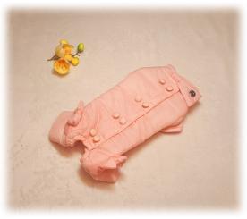 """Комбинезон """" Is pet """" цвет розовый"""