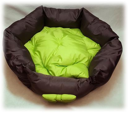 Лежанка «Комфорт» цвет зелёный