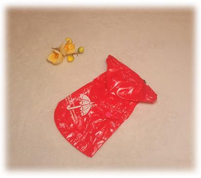 Дождевик «Зонтик» цвет малиновый