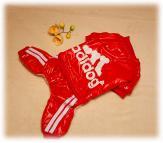 "Комбинезон "" Adidog "" цвет красный"