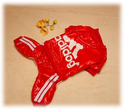 Комбинезон «Adidog» цвет красный