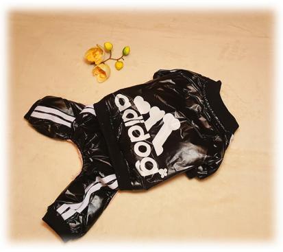 Комбинезон «Adidog» цвет чёрный