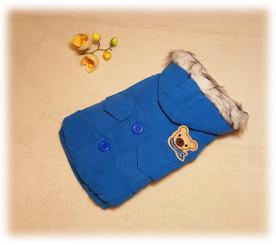 """Куртка """" Мишутка """" цвет синий"""