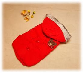 """Куртка """" Мишутка """" цвет красный"""
