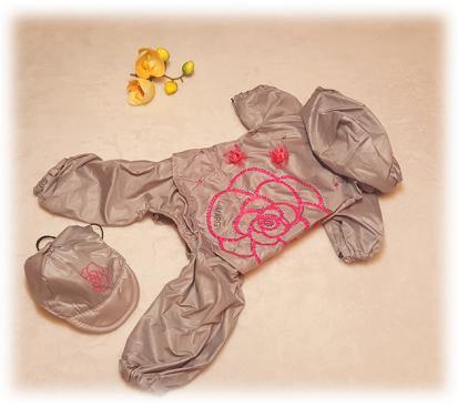 Дождевик «Роза» с кепкой