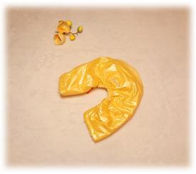 Брюки «Lim» цвет жёлтый