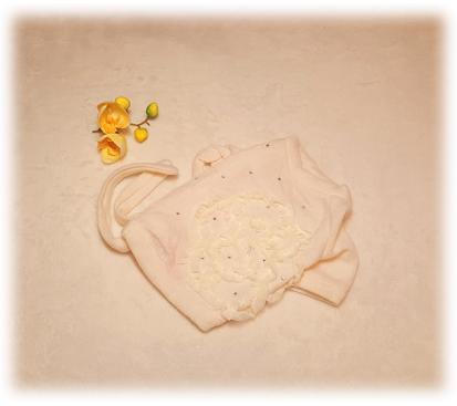 Свитер «Роза» цвет белый