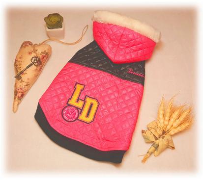 Куртка «LD» цвет малиновый