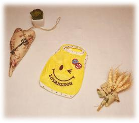 Майка «Улыбка» цвет жёлтый