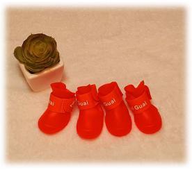 Резиновые сапоги цвет красный