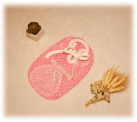 "Майка "" Кружево "" цвет розовый"