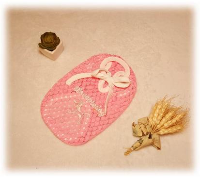 Майка «Кружево» цвет розовый