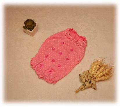 Майка «Жемчужный цвет» цвет розовый