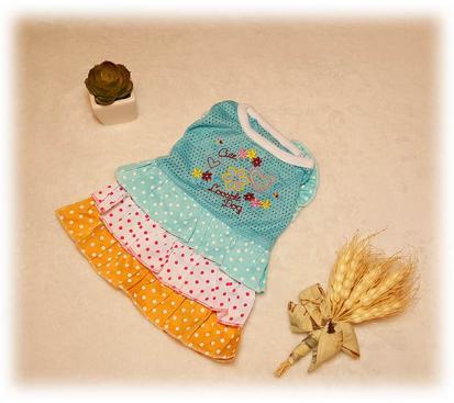 Платье «Милашка» цвет голубой