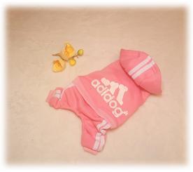 Спортивный костюм «Adidog» цвет розовый