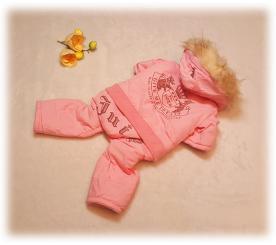 Комбинезон «Juicy couture» цвет розовый
