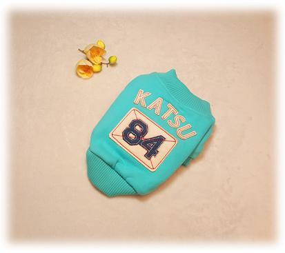 Куртка «84» цвет голубой