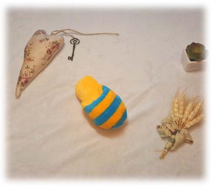 Игрушка «Тапок» цвет жёлтый