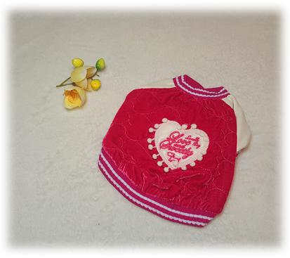 Куртка «Сердце» цвет розовый