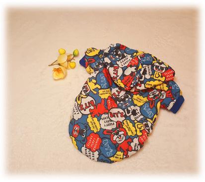 Куртка «Комиксы» цвет синий
