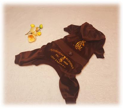 Спортивный костюм «C & A» цвет коричневый