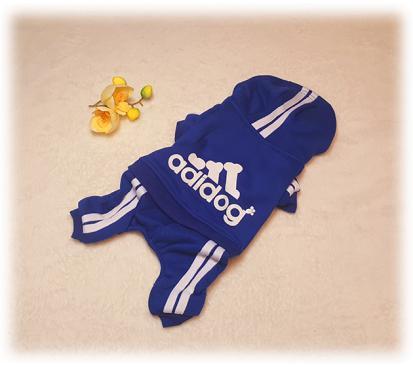 Спортивный костюм «Adidog» цвет синий