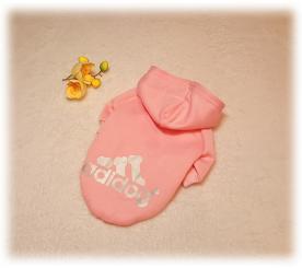 Толстовка «Adidog» цвет розовый