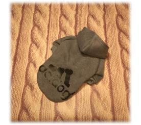 Толстовка «Adidog» цвет серый