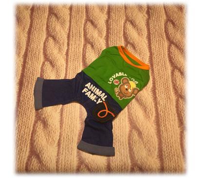 Костюм «Monkey» цвет зелёный