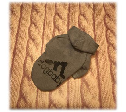 Толстовка «Dogbaby» цвет серый