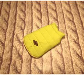 "Жилет "" Зима "" цвет жёлто - зелёный"