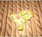 Пижама «Зебры» цвет жёлтый