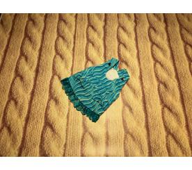 Сарафан «Волны» цвет бирюзовый