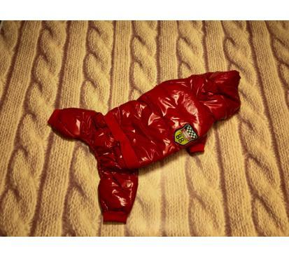 Комбинезон «88» цвет красный