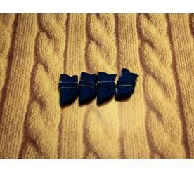 Тапочки «Лапка» цвет синий