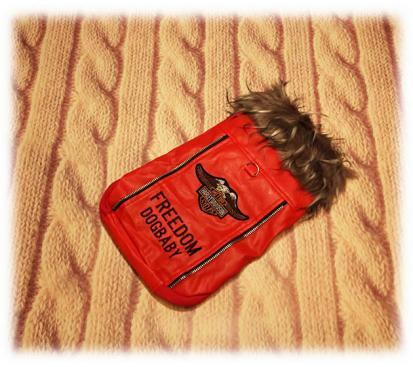 Куртка «Мото» цвет красный