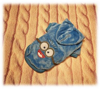 Толстовка «Миньон» цвет голубой