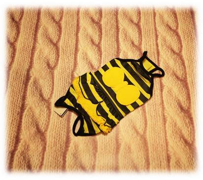 Майка - платье «Пчёлка»