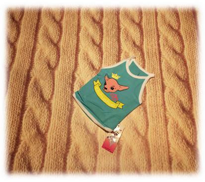 Майка «Чихуахуа» цвет бирюзовый