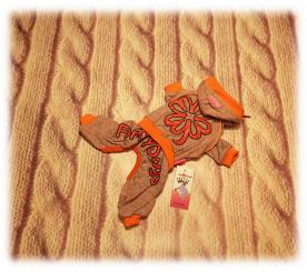 """Спортивный костюм """" Клевер """" цвет оранжевый"""