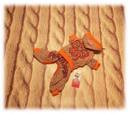 Спортивный костюм «Клевер» цвет оранжевый