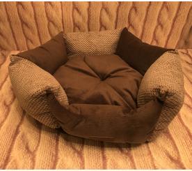 Лежанка «Марко» цвет коричневый