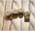 Сапоги «Зимняя прогулка» цвет коричневый Сапоги для собак.