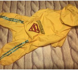 "Дождевик "" Супермен "" цвет жёлтый"
