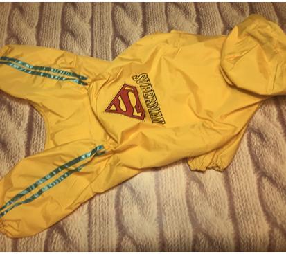 Дождевик «Супермен» цвет жёлтый