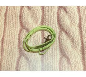 Поводок «Стразы» цвет зелёный