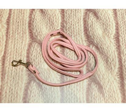 Поводок цвет розовый