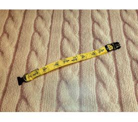 Ошейник LED «Снуппи» цвет жёлтый