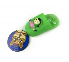Игрушка «Тапок» цвет зелёный