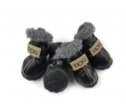 Сапоги «Dog» цвет чёрный